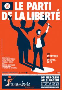 Affiche Parti de la Liberté